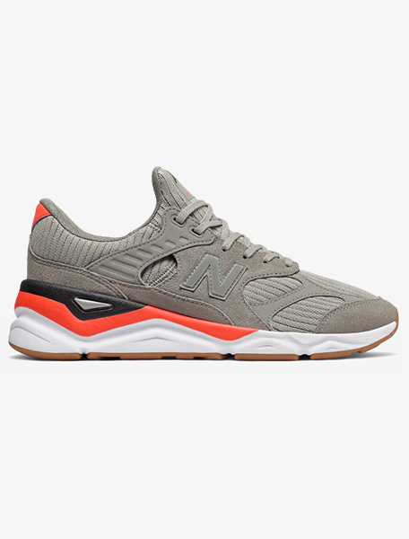 New Balance Men's X-90 Re-Constructed Lifestyle Sneaker - Marblehead/Flame Black, 10 US фото