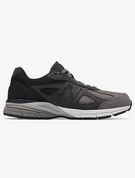 New Balance Men's 990 Running Shoe Made in USA - Grey/Black, 11.5 US фото
