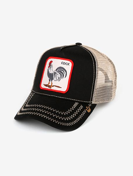 Bonibi_Goorin_bros_rooster_cock_Black_1