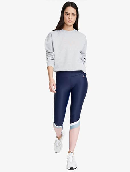 PE Nation Women's Flex it Legging Navy Mid - Bonibi - Westlake Village, Los Angeles, Malibu, Calabasas