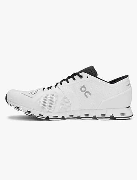 On Cloud X Men's Running Shoe White Black