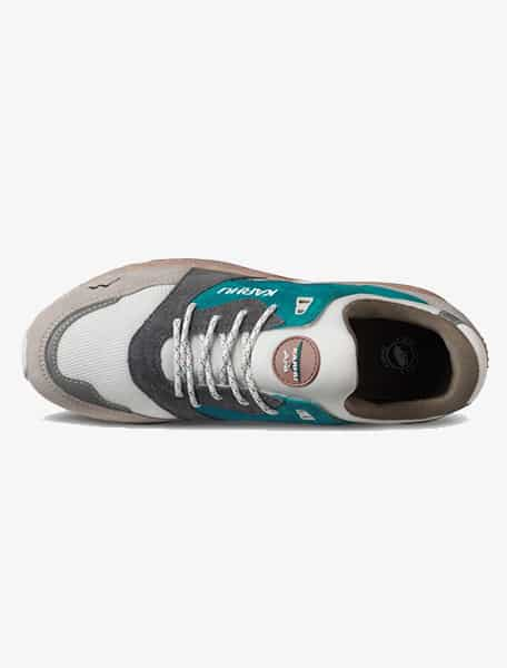 Karhu Aria 95 Sneaker Whitecap Gray Mosaic Blue - Westlake Village,Thousand Oaks, Los Angeles, Malibu, Calabasas