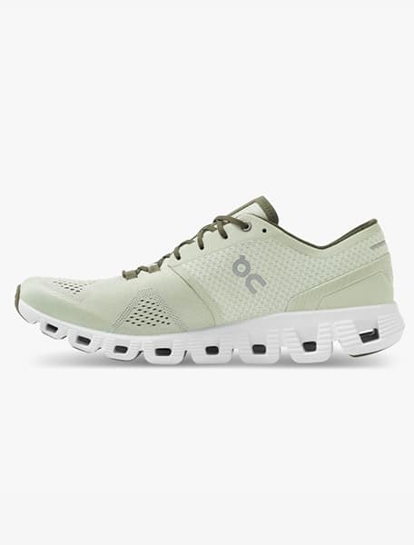 On Cloud X Men's Running Shoe Aloe White - Westlake Village,Thousand Oaks, Los Angeles, Malibu, Calabasas
