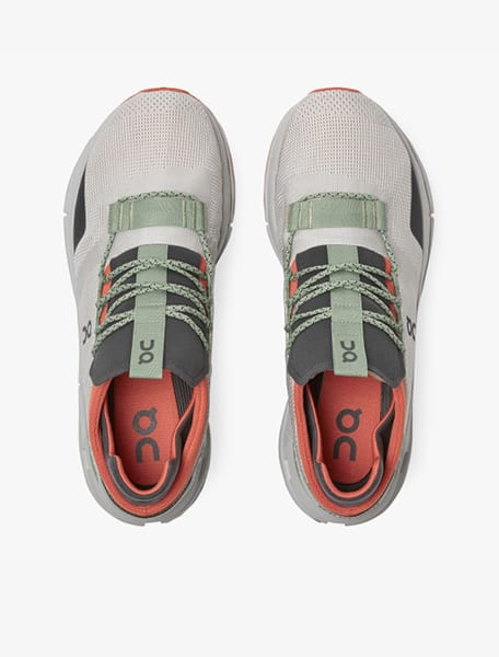On Cloudnova Men's Running Shoe Silver Orange - Westlake Village,Thousand Oaks, Los Angeles, Malibu, Calabasas