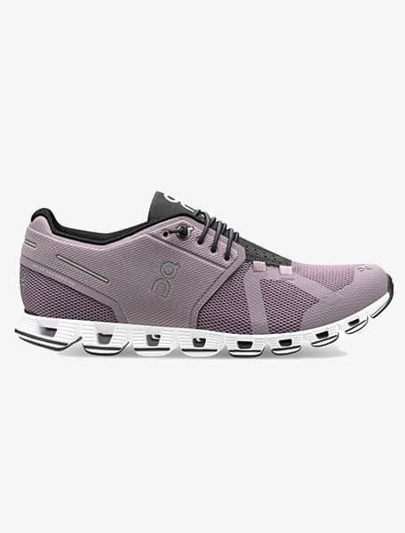 On Running Womens Cloud Mesh Lilac Black Trainers 9.5 US