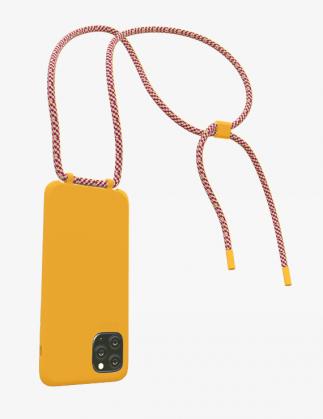 Bonibi Crossbody Phone Case - Tangerine/Malibu Sunset/Tangerine